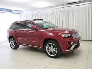 2015 Jeep Grand Cherokee LOW LOW KMs!! LOADED!! SUMMIT 4x4, Leat