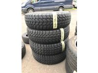 215/75/16 Goodyear tyres like new x4