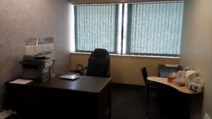 Professional All-Inclusive Offices Sublease Available