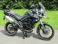 2013 Triumph Tiger 800 XC ABS Adventure Touring Motorcycle