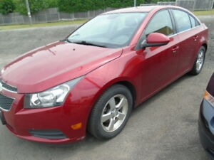 2012 Chevrolet Cruze LT Turbo Automatic/Air/Power Group 2.99%