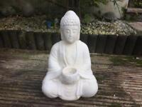 Large concrete garden Buddha