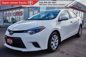 2016 Toyota Corolla LE - 160-pt Certified Inspection.  Check!