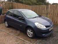 2006 Renault Clio 1.2 Extreme MOT 1 year 25th AUGUST 2018