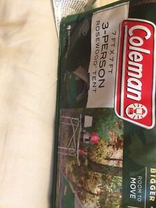 New Coleman Tent for Sale