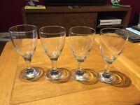 Wine Glasses - set of 4