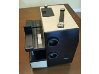 Royale - 35mm Dual Tray Slide Projector - Twin Lenses / Integral Cassette Player (including case)