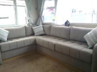 brand new static caravan for sale with indoor heated pool and facilities in north wales