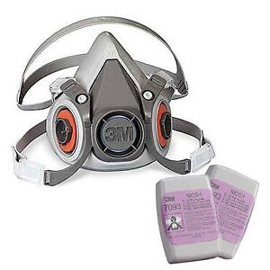 3M Respirators - 6000 Series Half Mask Asbestos Abatement Respir