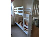SHORTIE kids bunk beds (5ft8in) - can be split into two beds