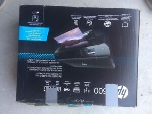 Wireless colour printer with ink