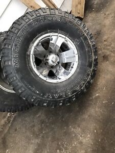 """35"""" tires with ion alloy rims"""
