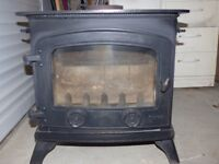 "Yeoman ""Devon"" Wood burning stove, good condition."