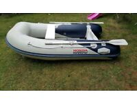 Honda Inflatable Dinghy Tender 2.5 aluminium floor