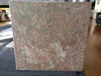 Brown granite kitchen worktop (3 pieces), suitable for galley kitchen