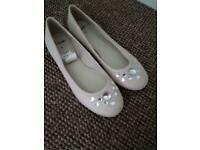 Clarks Ballerina Slip on shoe