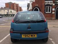 Vauxhall corsa club 12v 3door hatchback 993cc petrol
