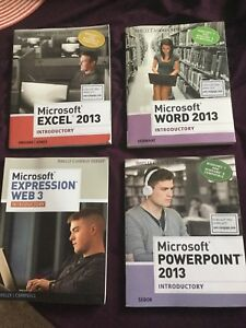 Microsoft Office Books 2013 Version