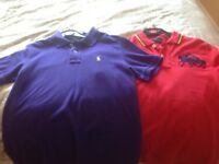 Ralph Lauren polo tops