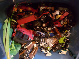 Large Lot of Small Cars