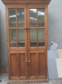 Antique preserves cabinet