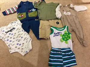 3-6 Month Boys Clothes.