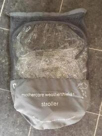 Brand new Mothercare universal rain cover