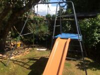 Tp slide and swing set