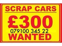 07910034522 SELL MY CAR 4x4 FOR CASH BUY YOUR SCRAP MOTORCYCLES E