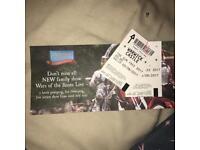 2x Warwick Castle Tickets