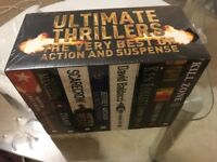 Ultimate Thrillers 8 Brand New Books Hours Of Pleasure Action & Suspense