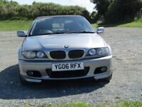 BMW 3 Series Sport convertible 2200cc straight 6 engine, Low mileage Beautiful condition