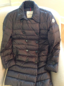 Moncler long coat, if you see this add I still have this coat