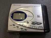 Sharp mini disc player