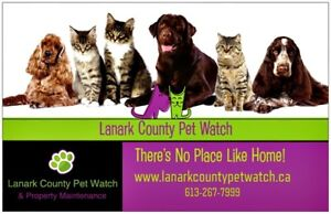 ***Pet/House Sitting***