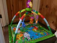 Baby play gym, play mat