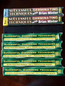 Set of Gardening How To videos Brian Minter