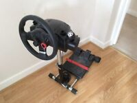 Logitech Driving Force GT Wheel and pedals + Wheel Stand Pro