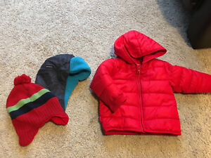 VERY CUTE OLD NAVY BABY PUFFER COAT 12/18M