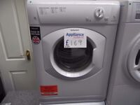 EX-DISPLAY HOTPOINT WHITE 7 KG VENTED DRYER REF: 31291