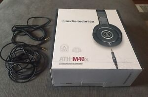Audio Technica ATH-M40x headphones [without adapter] $110 only