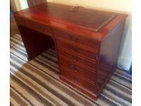 1980 antique style Edwardian desk