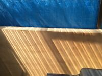 Marine plywood 18mm x 2400 x 1200mm unused sheets x 5 of