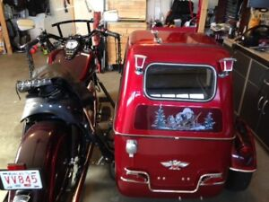 RARE 1999 Kawasaki Drifter (1600) and Motorvation Side Car
