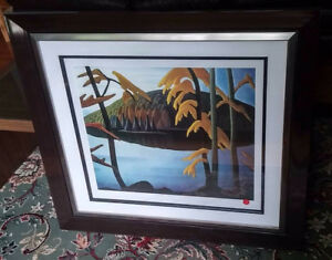 Lawren Harris original numbered lithograph- 2 numerote originels