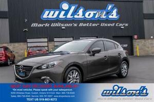 2014 Mazda MAZDA3 SPORT GS-SKYACTIV HATCHBACK! NAVIGATION! REAR