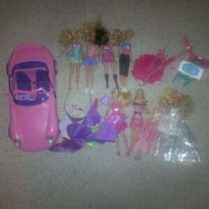Barbies and Car