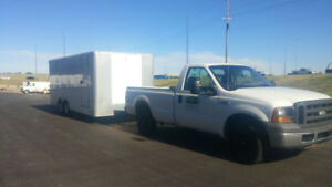 Trailer and truck package