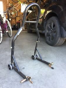 Motorcycle stand for $20