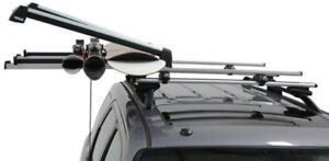 Thule 92726 Pull Top 6 - Locking Slidable Roof Mount Ski and Sno